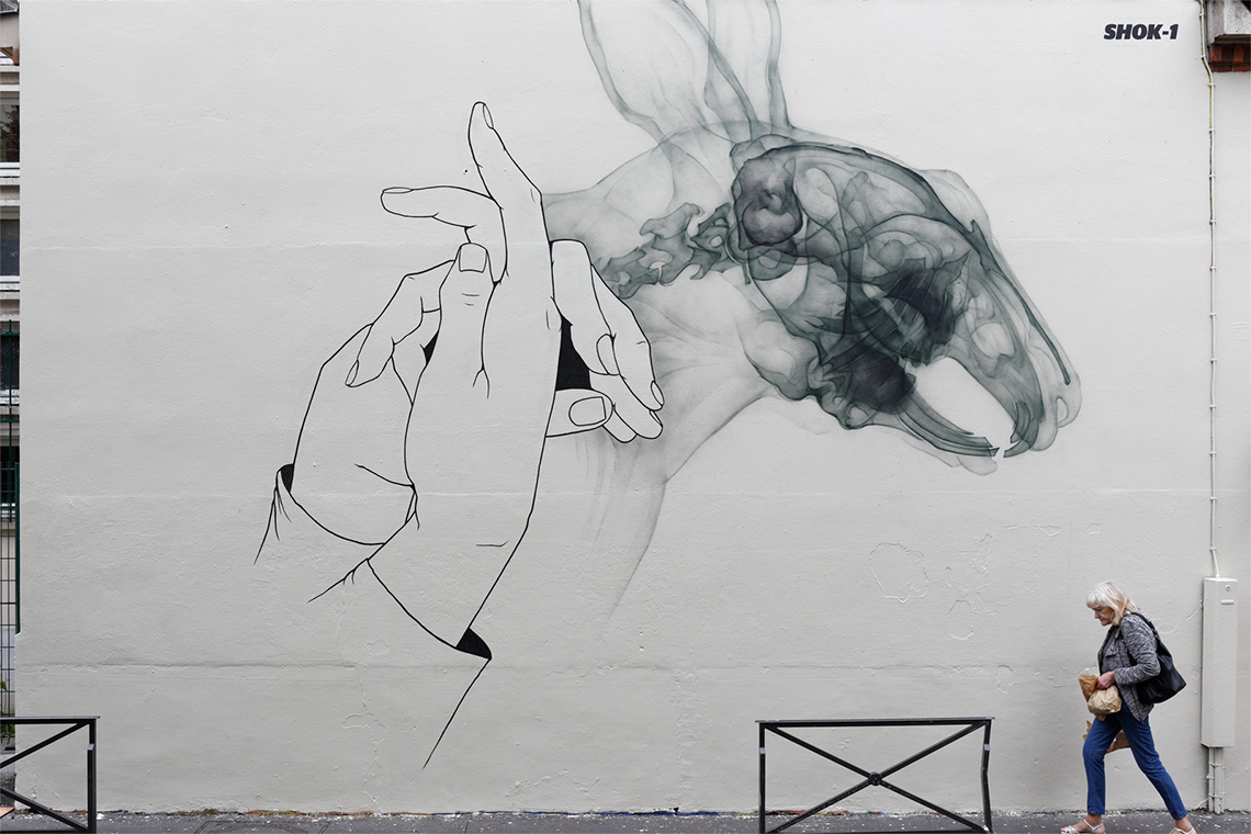 Dark Magic, SHOK-1, Parigi