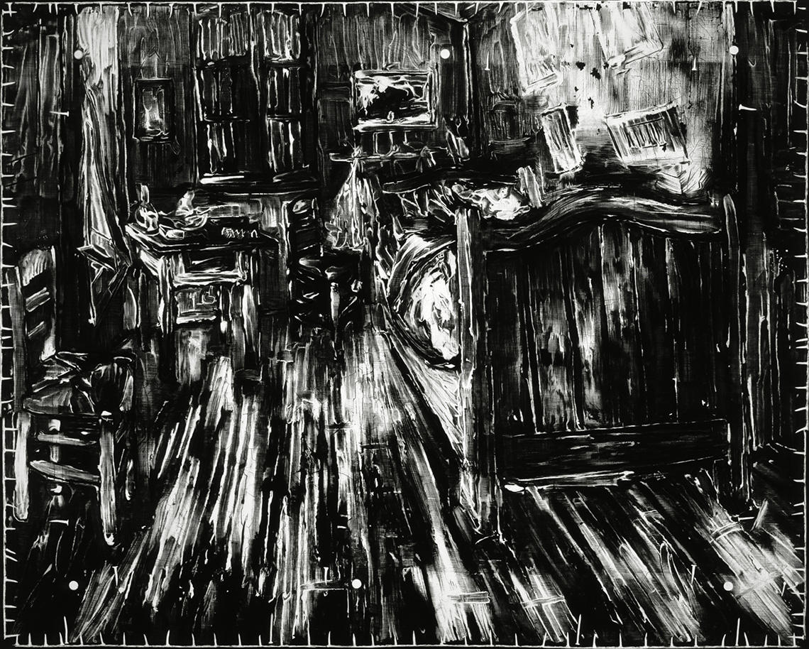 Untitled (Radiografia di Camera da letto di Van Gogh, 1888), Robert Longo, 2016